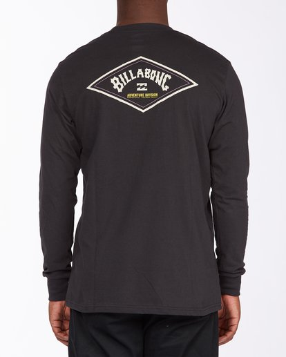 2 A/Div Diamond Long Sleeve T-Shirt Black ABYZT00265 Billabong