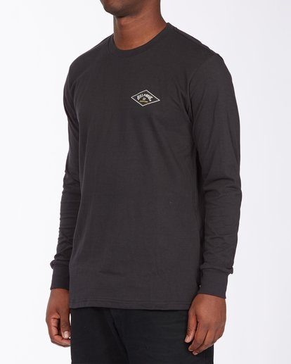 1 A/Div Diamond Long Sleeve T-Shirt Black ABYZT00265 Billabong