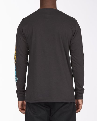 3 Sleeves Long Sleeve T-Shirt Black ABYZT00284 Billabong