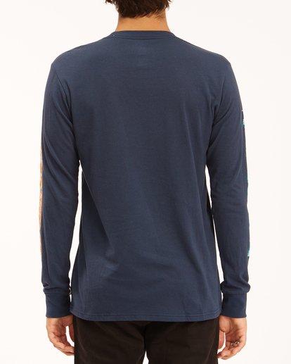 3 Sleeves Long Sleeve T-Shirt Blue ABYZT00284 Billabong