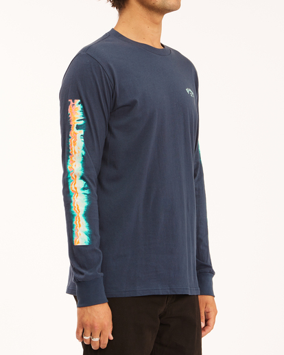 2 Sleeves Long Sleeve T-Shirt Blue ABYZT00284 Billabong