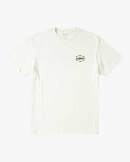 3 A/Div Cove Short Sleeve T-Shirt White ABYZT00285 Billabong