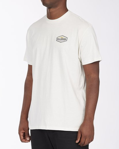1 A/Div Cove Short Sleeve T-Shirt White ABYZT00285 Billabong