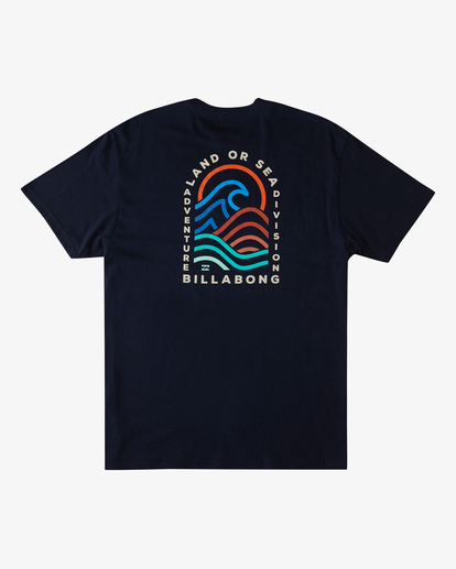 4 Transition Short Sleeve T-Shirt Blue ABYZT00286 Billabong