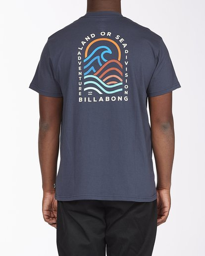 2 Transition Short Sleeve T-Shirt Blue ABYZT00286 Billabong