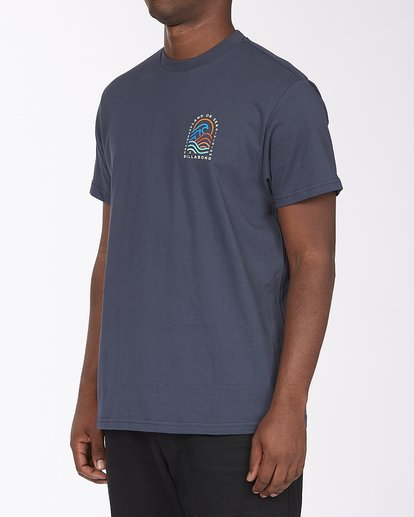 1 Transition Short Sleeve T-Shirt Blue ABYZT00286 Billabong