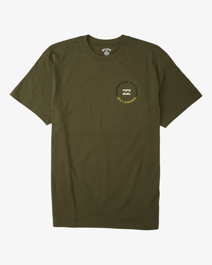 3 View Short Sleeve T-Shirt Green ABYZT00287 Billabong