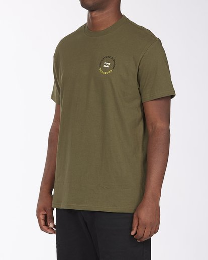 1 View Short Sleeve T-Shirt Green ABYZT00287 Billabong