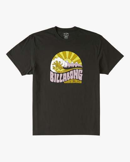 3 Ridge Short Sleeve T-Shirt Black ABYZT00288 Billabong