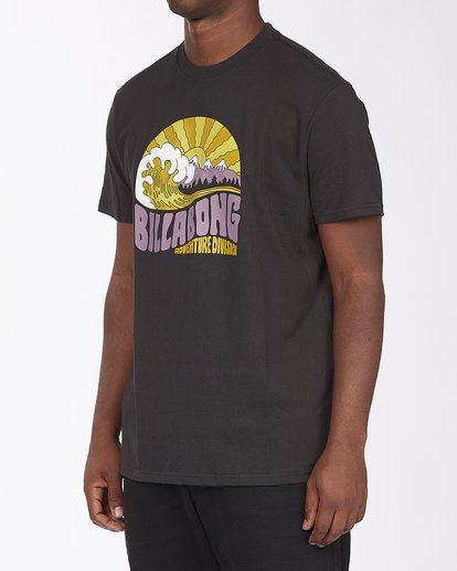 1 A/Div Ridge Short Sleeve T-Shirt Black ABYZT00288 Billabong