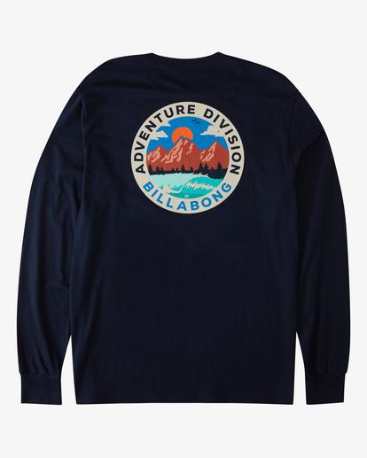 4 View Long Sleeve T-Shirt Blue ABYZT00289 Billabong