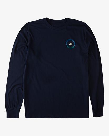 3 View Long Sleeve T-Shirt Blue ABYZT00289 Billabong
