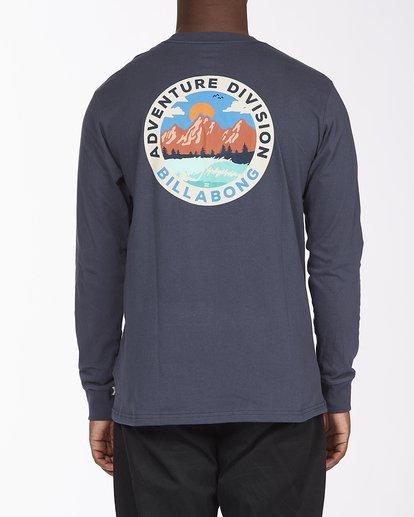 2 View Long Sleeve T-Shirt Blue ABYZT00289 Billabong