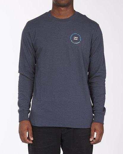 0 View Long Sleeve T-Shirt Blue ABYZT00289 Billabong