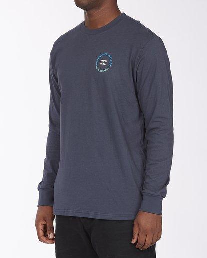1 A/Div View Long Sleeve T-Shirt Blue ABYZT00289 Billabong