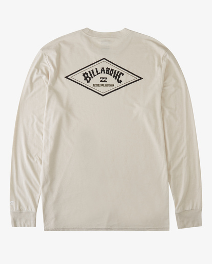 4 A/Div Diamond UV Long Sleeve T-Shirt Brown ABYZT00296 Billabong