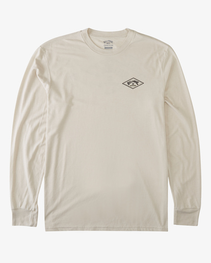 3 A/Div Diamond UV Long Sleeve T-Shirt Brown ABYZT00296 Billabong