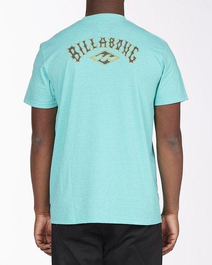 2 Currents Arch T-Shirt Green ABYZT00305 Billabong