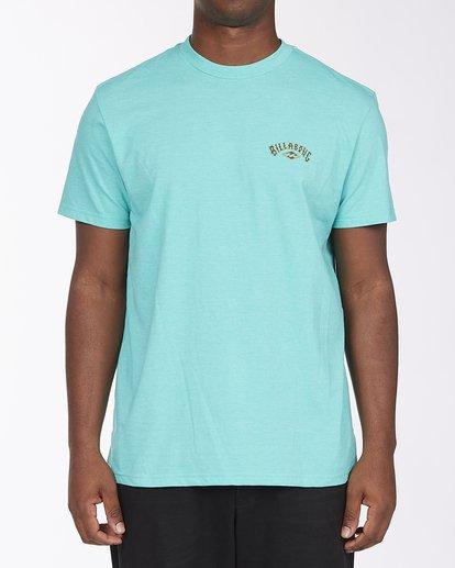 0 Currents Arch T-Shirt Green ABYZT00305 Billabong