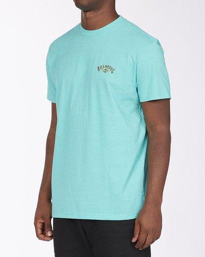 1 Currents Arch T-Shirt Green ABYZT00305 Billabong