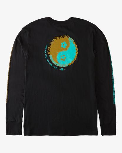 5 Our Ocean Long Sleeve T-Shirt Black ABYZT00307 Billabong