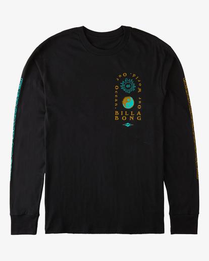 4 Our Ocean Long Sleeve T-Shirt Black ABYZT00307 Billabong