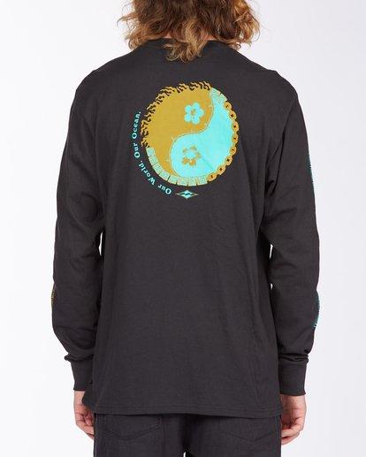 3 Our Ocean Long Sleeve T-Shirt Black ABYZT00307 Billabong