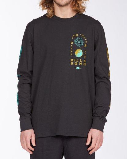 0 Our Ocean Long Sleeve T-Shirt Black ABYZT00307 Billabong