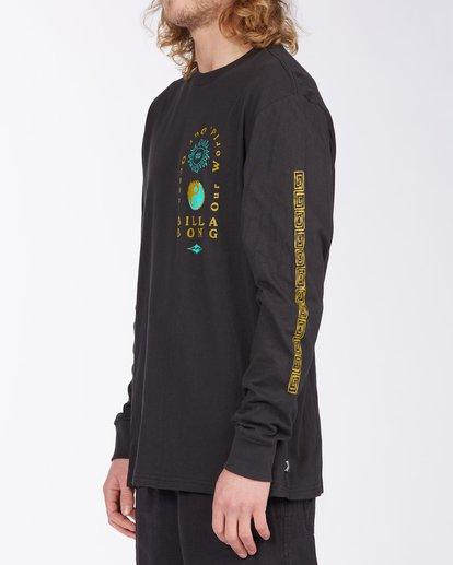1 Our Ocean Long Sleeve T-Shirt Black ABYZT00307 Billabong