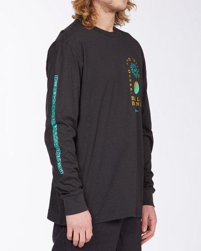 2 Our Ocean Long Sleeve T-Shirt Black ABYZT00307 Billabong