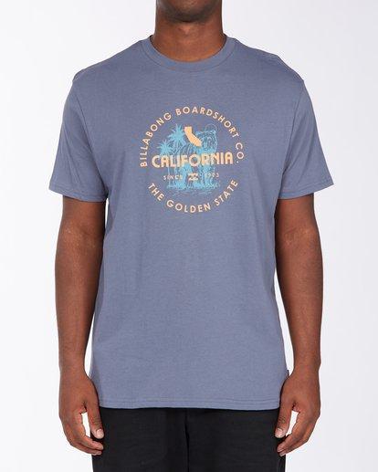 0 Seal California Short Sleeve T-Shirt Blue ABYZT00348 Billabong