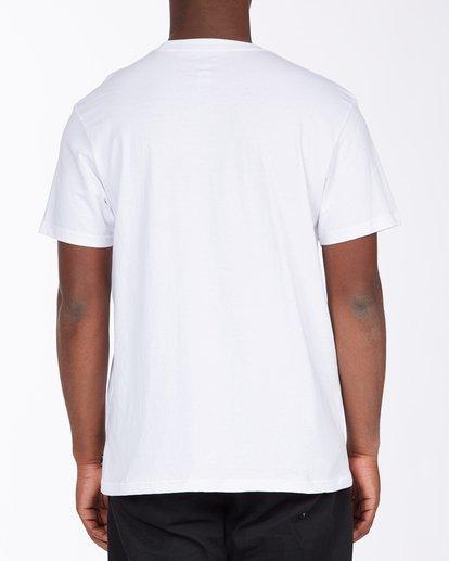 2 Seal California Short Sleeve T-Shirt White ABYZT00348 Billabong
