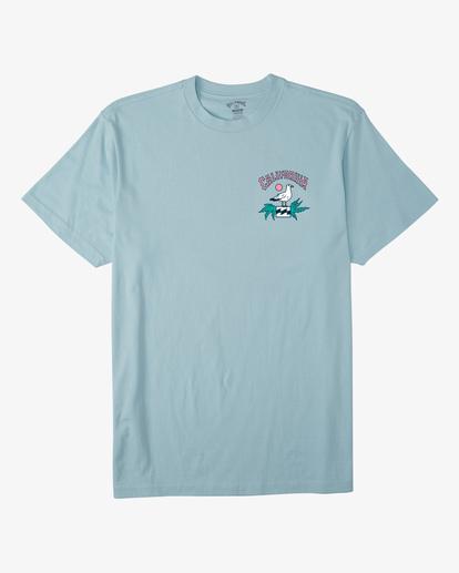 5 Arch California Short Sleeve T-Shirt Blue ABYZT00349 Billabong