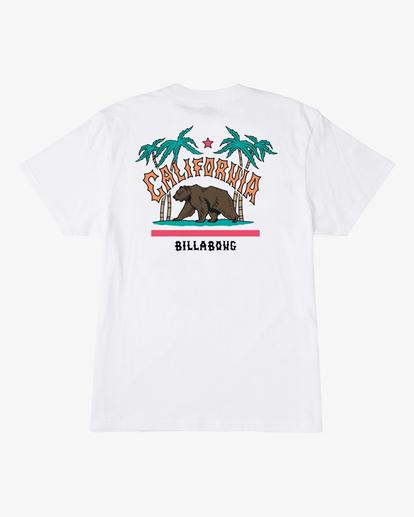 1 Arch California Short Sleeve T-Shirt White ABYZT00349 Billabong