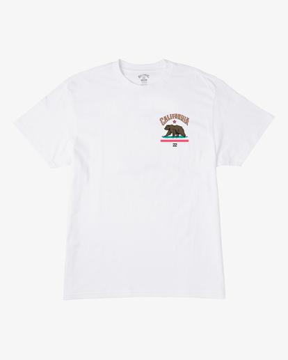 0 Arch California Short Sleeve T-Shirt White ABYZT00349 Billabong