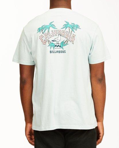2 Arch California Short Sleeve T-Shirt Blue ABYZT00349 Billabong