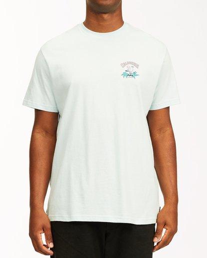 0 Arch California Short Sleeve T-Shirt Blue ABYZT00349 Billabong