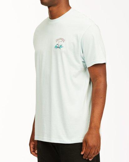 1 Arch California Short Sleeve T-Shirt Blue ABYZT00349 Billabong