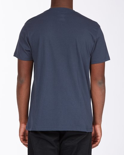 2 Greetings California Short Sleeve T-Shirt Blue ABYZT00351 Billabong