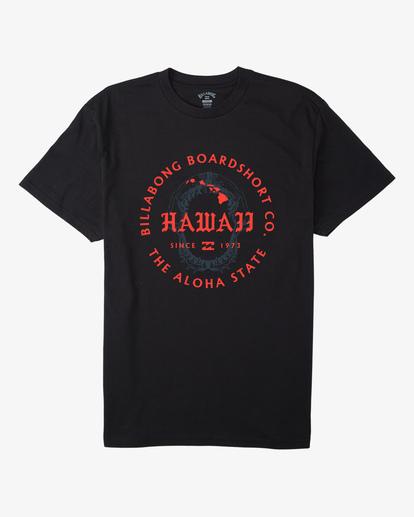 3 Seal Hawaii Short Sleeve T-Shirt Black ABYZT00353 Billabong