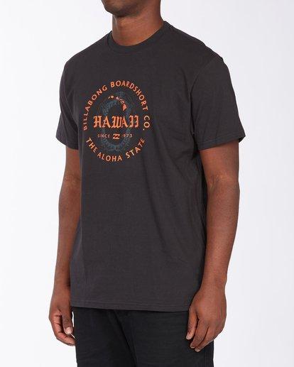1 Seal Hawaii Short Sleeve T-Shirt Black ABYZT00353 Billabong