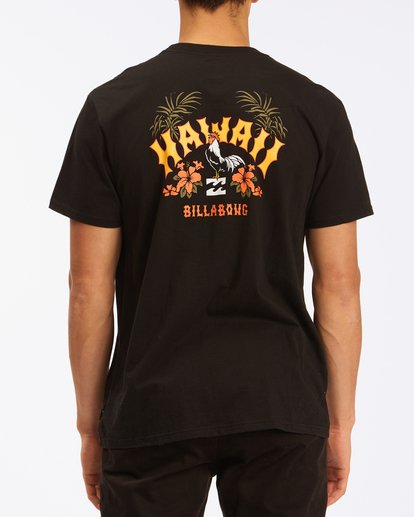2 Arch Hawaii Short Sleeve T-Shirt Black ABYZT00354 Billabong
