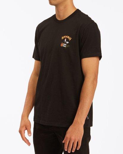 1 Arch Hawaii Short Sleeve T-Shirt Black ABYZT00354 Billabong