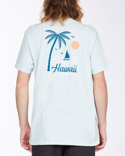 2 Daysailor Hawaii Short Sleeve T-Shirt Blue ABYZT00355 Billabong