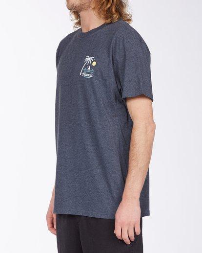 1 Daysailor Hawaii Short Sleeve T-Shirt Blue ABYZT00355 Billabong