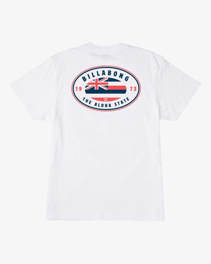 4 Roller Hawaii Short Sleeve T-Shirt White ABYZT00357 Billabong