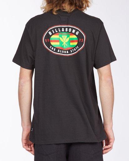 2 Roller Hawaii Short Sleeve T-Shirt Black ABYZT00357 Billabong