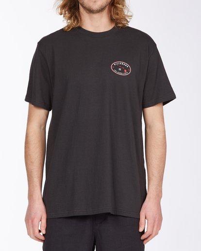 0 Roller Hawaii Short Sleeve T-Shirt Black ABYZT00357 Billabong