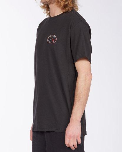 1 Roller Hawaii Short Sleeve T-Shirt Black ABYZT00357 Billabong