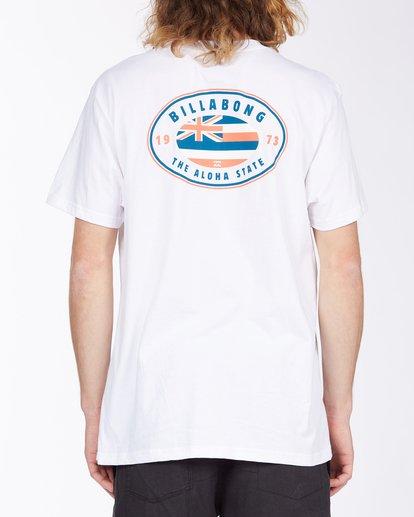 2 Roller Hawaii Short Sleeve T-Shirt White ABYZT00357 Billabong
